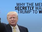 Các phương tiện truyền thông ngầm muốn ông Trump thắng cử?