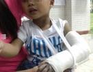Kiểm tra vụ bé 3 tuổi gãy tay tại trường mầm non
