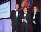 """Ngân hàng duy nhất của Việt Nam nhận giải """"Bank of the Year 2015"""""""