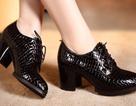 Nhập giày từ Trung Quốc: Đánh thuế 0% giày nguyên đôi, 20% cho đế giày