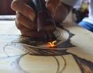 Gặp người vẽ chân dung Bác Hồ bằng bút lửa nhiều nhất