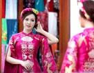 Thuỵ Vân thử trang phục chuẩn bị làm MC Chung kết Hoa hậu Việt Nam