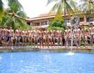 Ngọc Tình đứng thứ 7 khi diễn đồ bơi tại Nam Vương Đại sứ Hoàn cầu