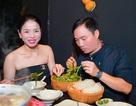 Lệ Quyên diện đồ gợi cảm, đi ăn tối cùng Quang Linh
