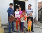 Gần 44 triệu đồng đến với đôi vợ chồng nghèo và 3 đứa con bệnh tật