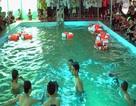 Hà Tĩnh: Trường học đầu tư bể trên 1 tỷ dạy bơi cho học sinh