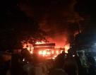 Chợ thị trấn cháy lớn, hàng trăm ki-ốt bị thiêu rụi