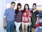 """Nghệ sĩ """"nô nức"""" đi dự khai trương cửa hàng Lacoste  lớn nhất Hà Nội"""
