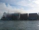 Vụ chìm tàu nước ngoài: Nguy cơ cháy nổ, ô nhiễm trên biển