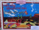 Độc đáo bức tranh Chiến thắng Điện Biên Phủ làm bằng… ống hút