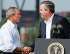 """Bush """"anh"""" vào cuộc giúp Bush """"em"""" tranh cử tổng thống"""