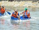 Hào hứng đua thuyền chèo ở Cần Giờ