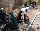 Hơn 300 chiến sỹ dập tắt đám cháy rừng kéo dài