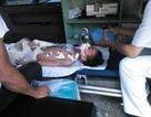 Bé Đinh Văn Sa, cậu bé bị tai nạn đa chấn thương đã qua đời