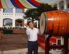 Nguyên Chủ tịch nước Trương Tấn Sang dự khai giảng tại Long An