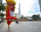 Phố đi bộ Nguyễn Huệ lần đầu tiên tưng bừng nhịp trống lân