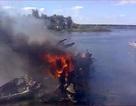 Hiện trường vụ tai nạn máy bay làm 43 người chết tại Nga