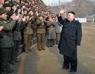 Kim Jong-un thị sát diễn tập quân sự