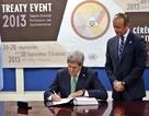 Mỹ ký Hiệp ước kiểm soát buôn bán vũ khí toàn cầu