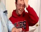 """""""Sốt"""" video chàng trai mắc bệnh Down đỗ đại học"""