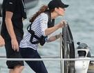Công nương Anh thắng đậm trong cuộc đua thuyền ở New Zealand