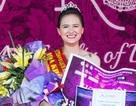 Thiếu nữ 1m72 giành vương miện Hoa khôi khoa Luật ĐHQGHN