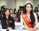 Hoa hậu Kỳ Duyên: Em sẽ học tiếng Anh rất nhanh