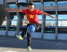 Chàng trai Việt vinh dự được giao lưu với đội bóng Real Madrid