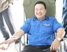 Thủ lĩnh tình nguyện hiến gần 7.000ml máu