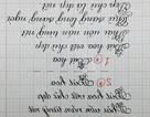 Độc đáo clip cô gái viết chữ ngược chúc Tết