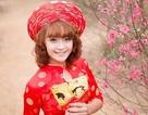Thiếu nữ Hà thành đua sắc giữa vườn Xuân