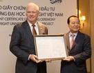 Tổng Bí thư dự lễ trao chứng nhận đầu tư cho ĐH Fulbright Việt Nam