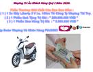 Đà Nẵng: Vẫn còn chiêu lừa báo trúng thưởng xe máy qua mạng xã hội