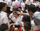 Trẻ bỡ ngỡ ngày đầu vào lớp 1
