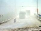 """Màn """"sương bụi"""" dày đặc bao phủ 24/24h ở phía Tây sông Đáy"""