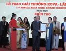 Trao giải thưởng KOVA cho các nghiên cứu khoa học mang ứng dụng cao