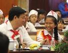 Bí thư thành ủy Đinh La Thăng mong làm bạn với học sinh