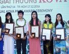 """Sinh viên ĐH Quốc gia Hà Nội """"chiếm lĩnh"""" giải thưởng Kova hạng mục Triển vọng"""