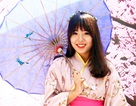 Thiếu nữ Việt làm duyên với yukata truyền thống Nhật Bản