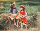 Bộ ảnh em bé 5 tuổi trải nghiệm cuộc sống trên cánh đồng Hà Giang