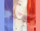 Dân mạng đồng loạt thay avatar ủng hộ người dân Pháp