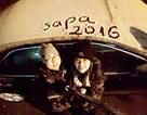Giới trẻ háo hức khoe ảnh, clip tuyết rơi ở miền núi phía Bắc