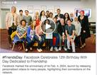 """Ứng dụng tạo video """"Ngày bạn bè"""" của Facebook gây """"sốt"""""""