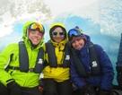 Cô gái 8X Việt đặt chân tới vùng đất Nam Cực