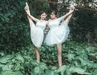 Vũ điệu ballet của nữ sinh trường Múa giữa thiên nhiên xanh mướt