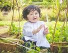 Bé 1 tuổi đáng yêu trong bộ ảnh nông dân Nam bộ