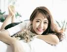 Cuối tuần thư giãn của hot girl Vũ Quỳnh Anh bên chú mèo cưng