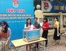 Thanh niên Thủ đô quyên góp vì đồng bào miền Trung bị mưa lũ
