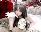 """""""Công chúa cosplay"""" hoá thân nữ thần rừng gợi cảm ngày Halloween"""