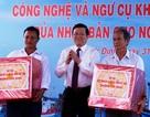 Chủ tịch nước tặng quà cho ngư dân tỉnh Bình Định